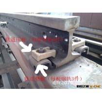 厂家指导安装数控切割机导轨