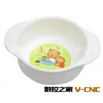 余姚注塑模具加工 塑料PP儿童餐具 儿童辅食碗
