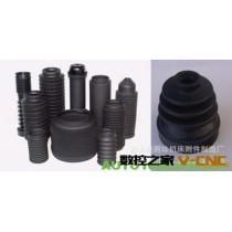 供应橡胶防护罩 圆形橡胶防护罩 耐高温丝杆防护罩