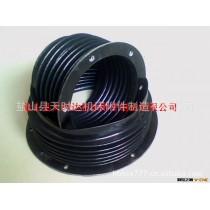 供应圆形防护罩、硅胶布、石棉布耐温防护罩、丝杠防护罩