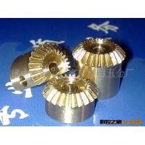 供应铜探头齿轮 连接件加工