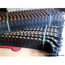 厂家现货供应高品质塑料拖链 雕刻机专用25*57塑料拖链 坦克链