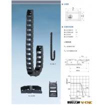 【厂家直销拖链】微型10*6塑料拖链系列。环保型