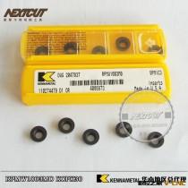 供应正宗美国肯纳R5铣刀片 RPMW1003MO KCPK30 进口模具加工刀片