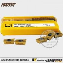 批发美国肯纳模具刀片 APMT1604PDER  KC725M 不锈钢用R0.8铣刀片
