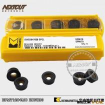 批发美肯纳模具铣刀片 RPMT1204MO KCPK30 匹配三菱日立R6圆刀片