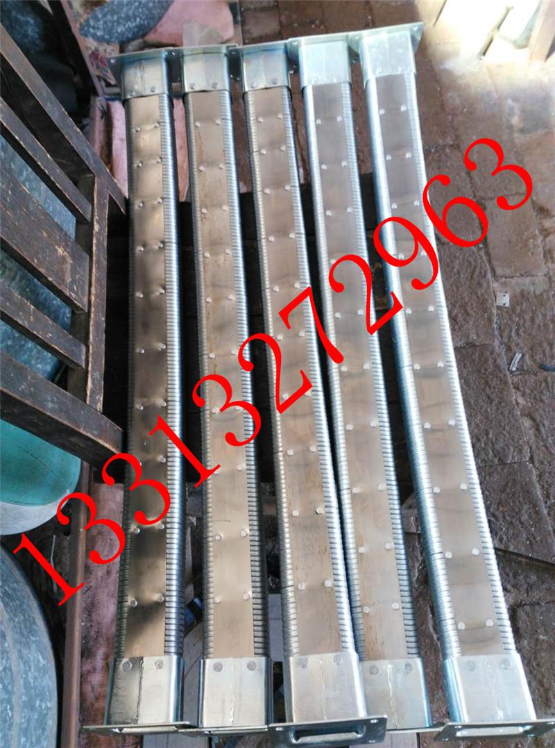 矩形金属软管沧州昊旭供应  线缆保护移动拖链  金属矩形管