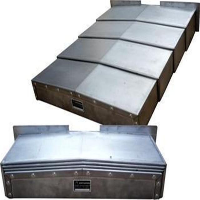庆云县加工定制专家  机床防护罩 钢板式 不锈钢式防护罩